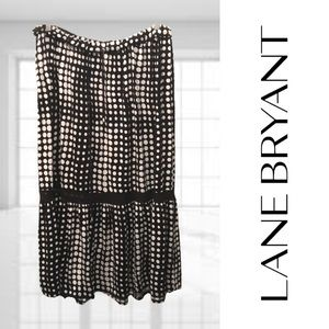 Lane Bryant Polka Dot Maxi Skirt